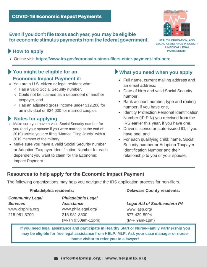 Economic Impact Payment flier rev 21 Apr 20